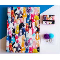 Kit Caderno Sketchbook Cavalos